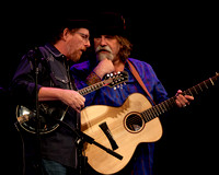Tim O'Brien & Darrell Scott @ The Fletcher Theater in Raleigh NC on 1-18-2014