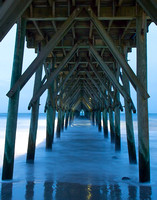 Some say looking through a pier is like looking through a cathedral.