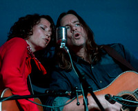 Sarah Lee Guthrie and Johnny Irion at 54 West Live in Graham, NC.  Wednesday December 3, 2014.
